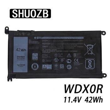 Аккумулятор для ноутбука WDX0R T2JX4 3CRH3 WDXOR для Dell Inspiron 13 5000 5368 5378 7368 14 7000 7560 7460 5567 15MF PRO-1508T FW8KR Новый