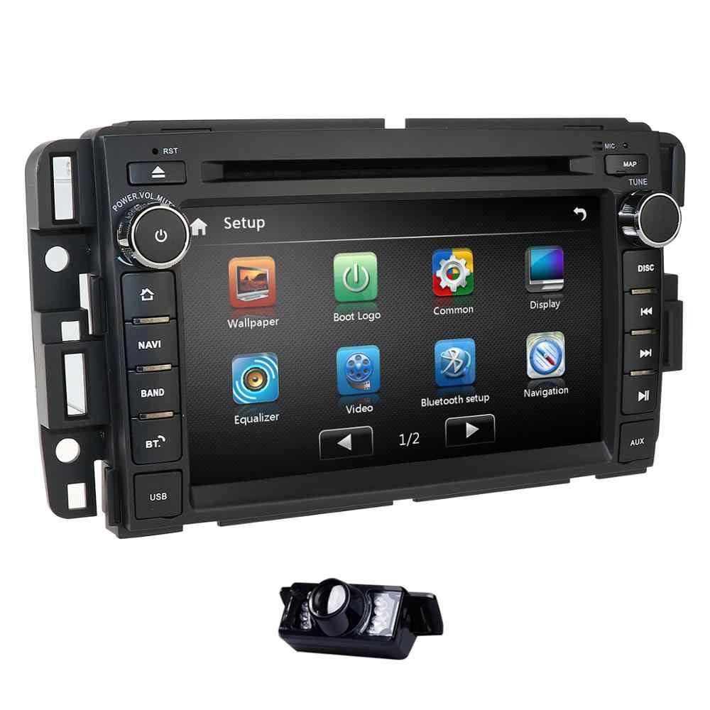 Gmc シエラ 1500 2500HD 3500HD カーラジオ DVD プレーヤー GPS ナビゲーション Gmc ユーコンシエラシボレーシボレー Tahoe Suburban CAMMAP