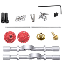 Drift-Housing Metal-Parts Upgrade-Diy-Accessory Rear-Axle-Assembly for WPL D12 1:10 Cars-Styling-Truck