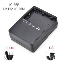 Battery-Charger Camera LP-E6 5dmark-Ii 70D Canon LC-E6E for EOS 5dmark-ii/Iii/5d2/..