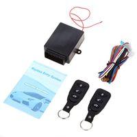 범용 자동차 자동 원격 중앙 키트 도어 잠금 자동차 키리스 엔트리 시스템 원격 컨트롤러와 새로운 자동차 알람 시스템