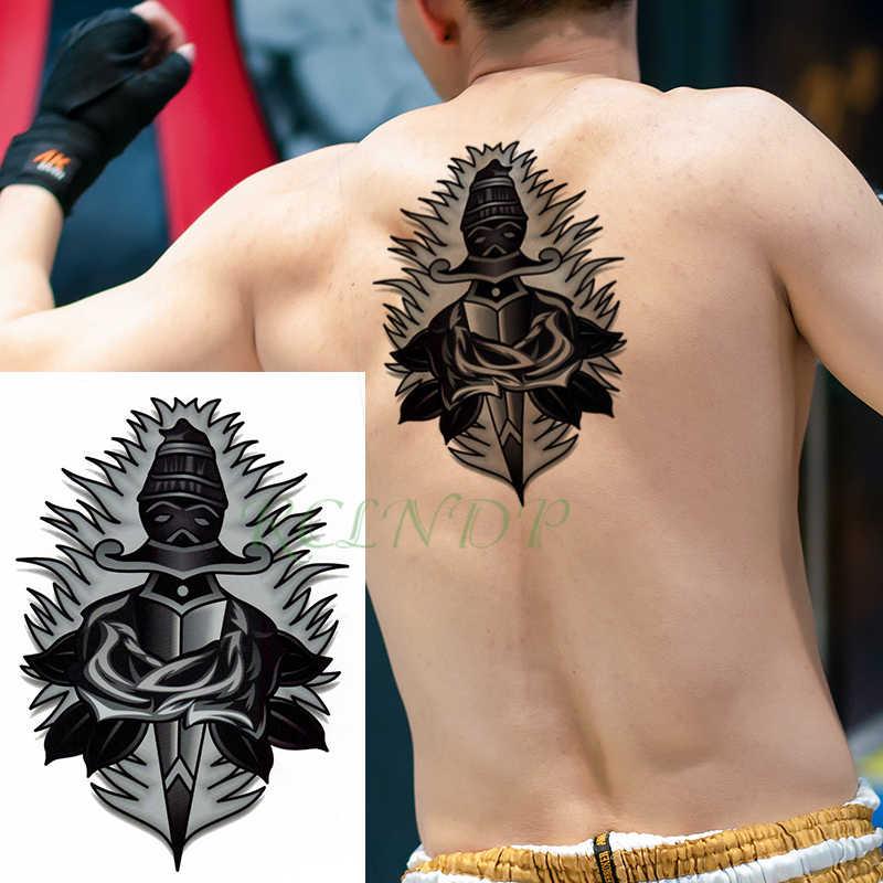 Tahan Air Stiker Tato Sementara Pedang Keren Bunga Mawar Ukuran Besar Hitam Flash Tato Fakebody Seni Tattoo Untuk Gadis Pria Wanita Anak Aliexpress