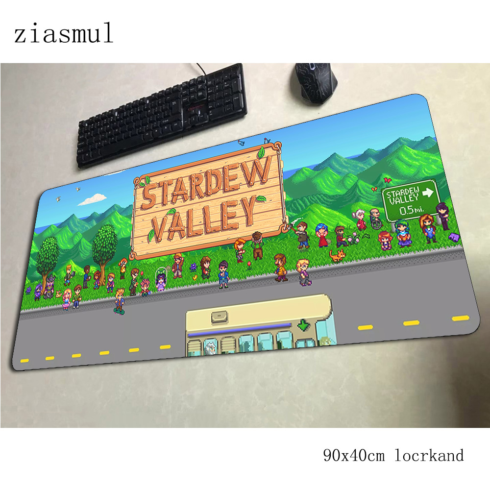 stardew valley pad mouse Christmas gifts computer gamer mouse pad 900x400x3mm padmouse mousepad ergonomic gadget office desk mat image