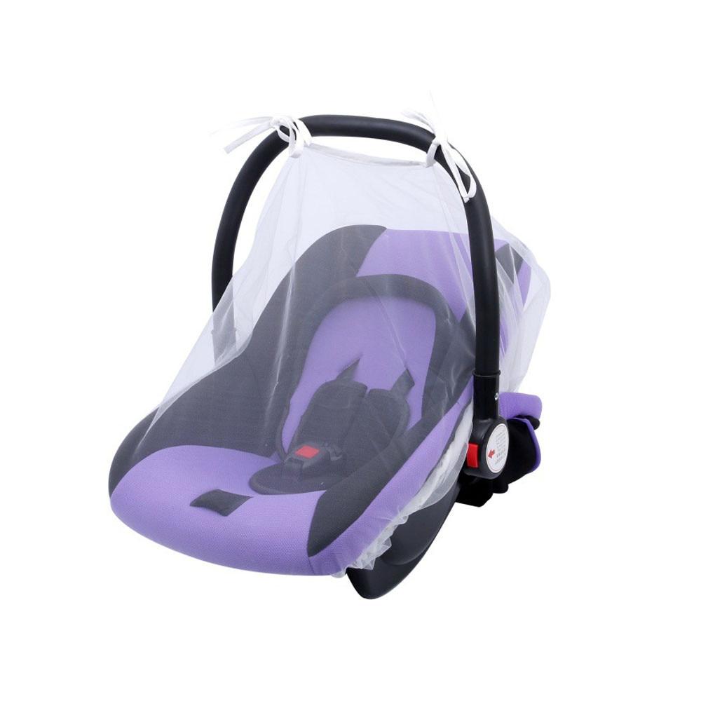Lisin Baby Crib Seat Mosquito NetNewbornCurtainCar Seat Insect Netting CanopyCover