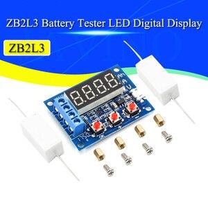 Тест аккумулятора, светодиодный цифровой дисплей, 18650 литиевый аккумулятор, испытание электропитания, сопротивление, свинцово-кислотная ем...