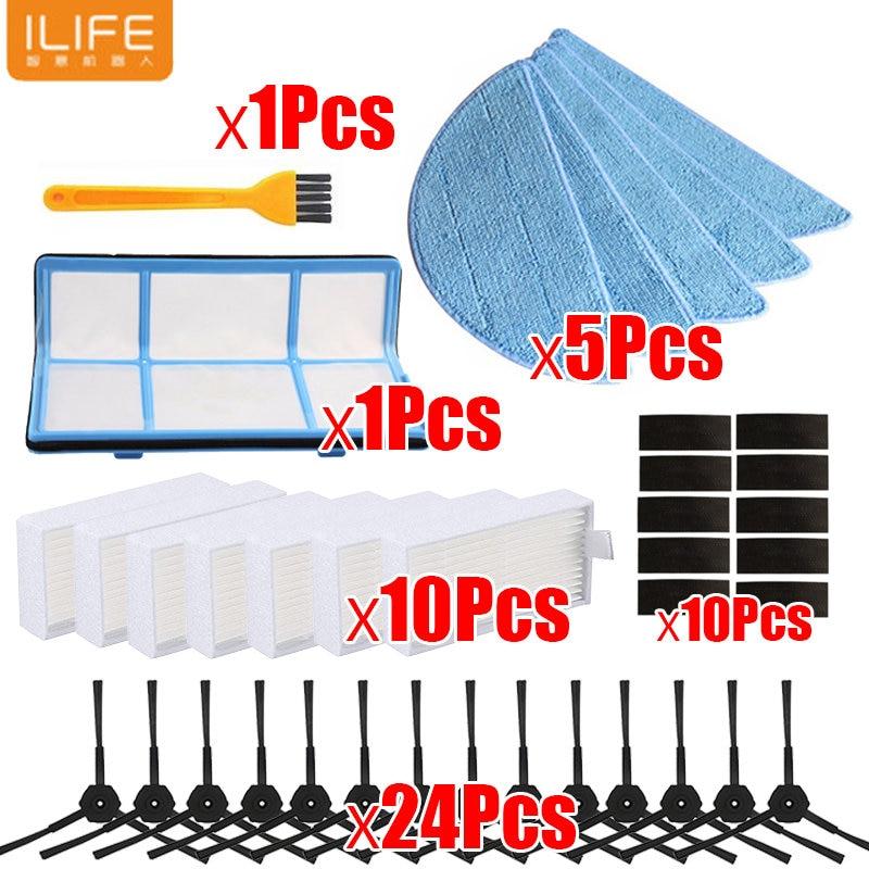Robot Vacuum Cleaner Parts For Chuwi ilife V5 V5s V3 V3s V5 pro X5 Filter Brush