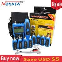 Noyafa-NF388 Professionelle BNC USB RJ45 RJ11 Tester LCD Lan Tester Multi-Funktionale Netzwerk kabel tester Draht Tracker Tool Kit