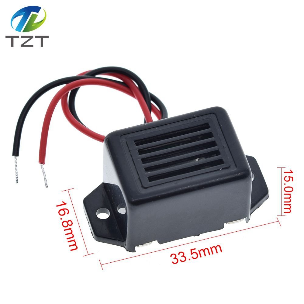 Alarm buzzer DC 12V 85dB mini electronic alarm buzzers constant^US