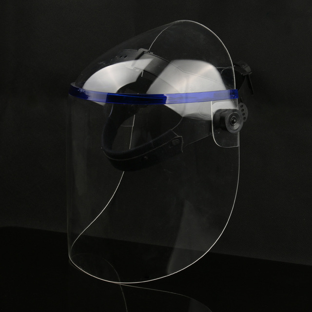 Dust Proof Welding Helmet Solder Masks Face Eye Protective Shield Anti-UV Anti-Saliva Shock Safety Masks Full Face Shield Mask 4