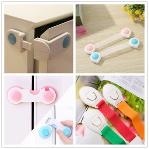 Children's safety protection multi-functional baby safety lock anti-clamping hand drawer cabinet door on children's safety lock(China)