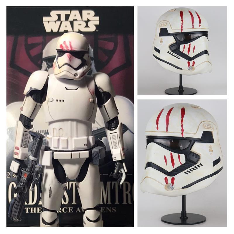 Star Wars 9 The Rise Of Skywalker The Storm Troops Warrior Cosplay Masks Imperial Stormtrooper Soldier Latex Mask Helmet Props