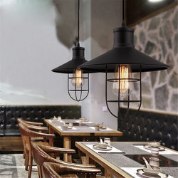 LOFT żyrandol w stylu Vintage LED lampa wewnętrzna nowoczesna żelazna metalowa klasyczna oprawa oświetleniowa bar dekoracja sklepu żarówka edisona AC110-265V