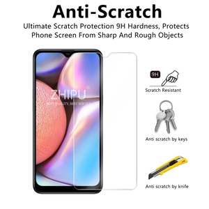 Image 4 - 2 Pcs Tempered Glass For Samsung Galaxy A10S Glass Screen Protector 2.5D 9H Tempered Glass For Samsung A10S Protective Film