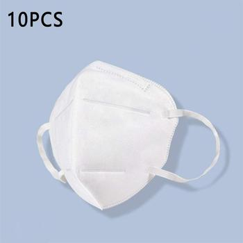 2020 10pcs Hot Sale KN95 Dustproof Anti-fog And Breathable Face Masks N95 Mask 95% dust Filtration Mask 2