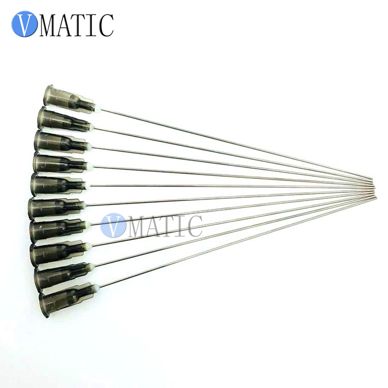 Free Shipping 10Pcs 22G 10cm 100mm Blunt Needle Tip