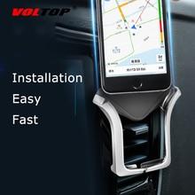 VOLTOP автоматический зажим U тип держатель телефона автомобильные аксессуары Air Outlet универсальный для навигации по мобильному телефону поддержка стендовые принадлежности