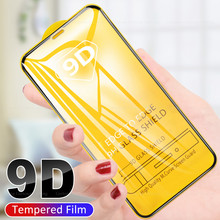 9D Ultra-thin clear film For iPhone 11 Pro Max 6 6s 7 8 Plus Full Cover Screen Protector For iPhone 11 X XS MAX XR 11PRO 2019(China)