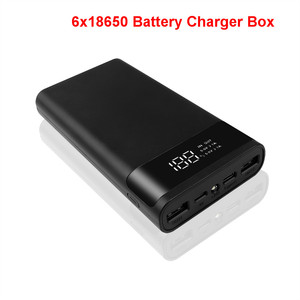 Image 3 - Kebidumei DIY 6*18650 Power Bank Case External 5V Battery Charge Storage Box Shell For Charging Mobile Phones Portable