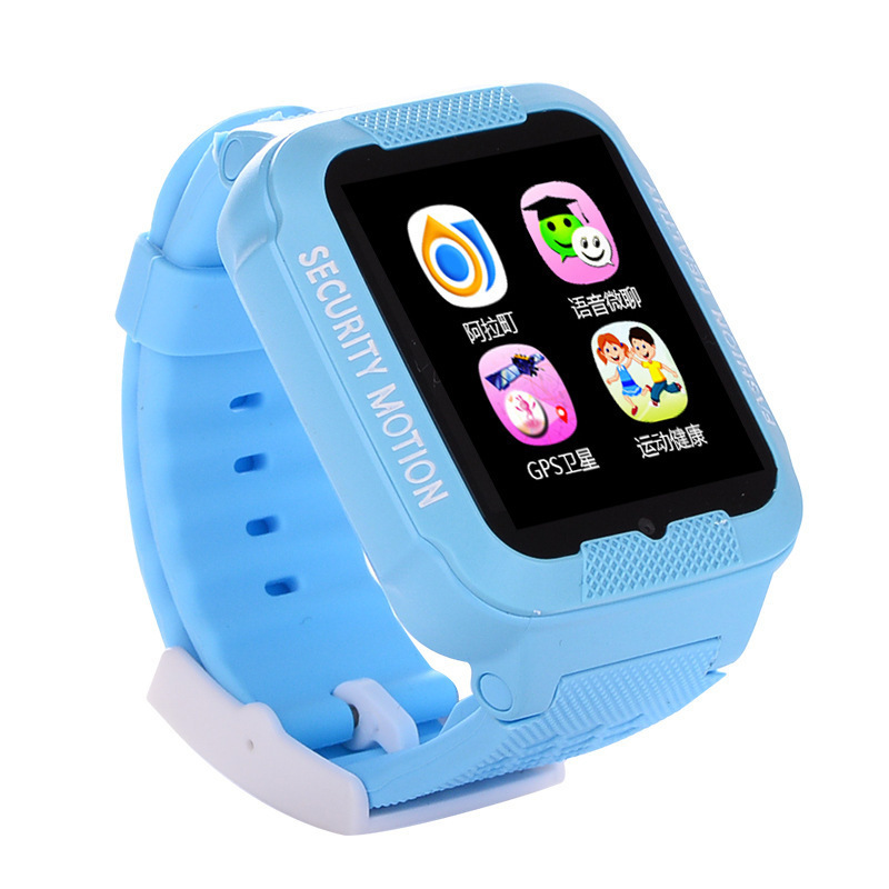 Smart Kids' Watch GPS Positioning Photo Shoot Learning Depth Waterproof High-definition Call Multinational Language