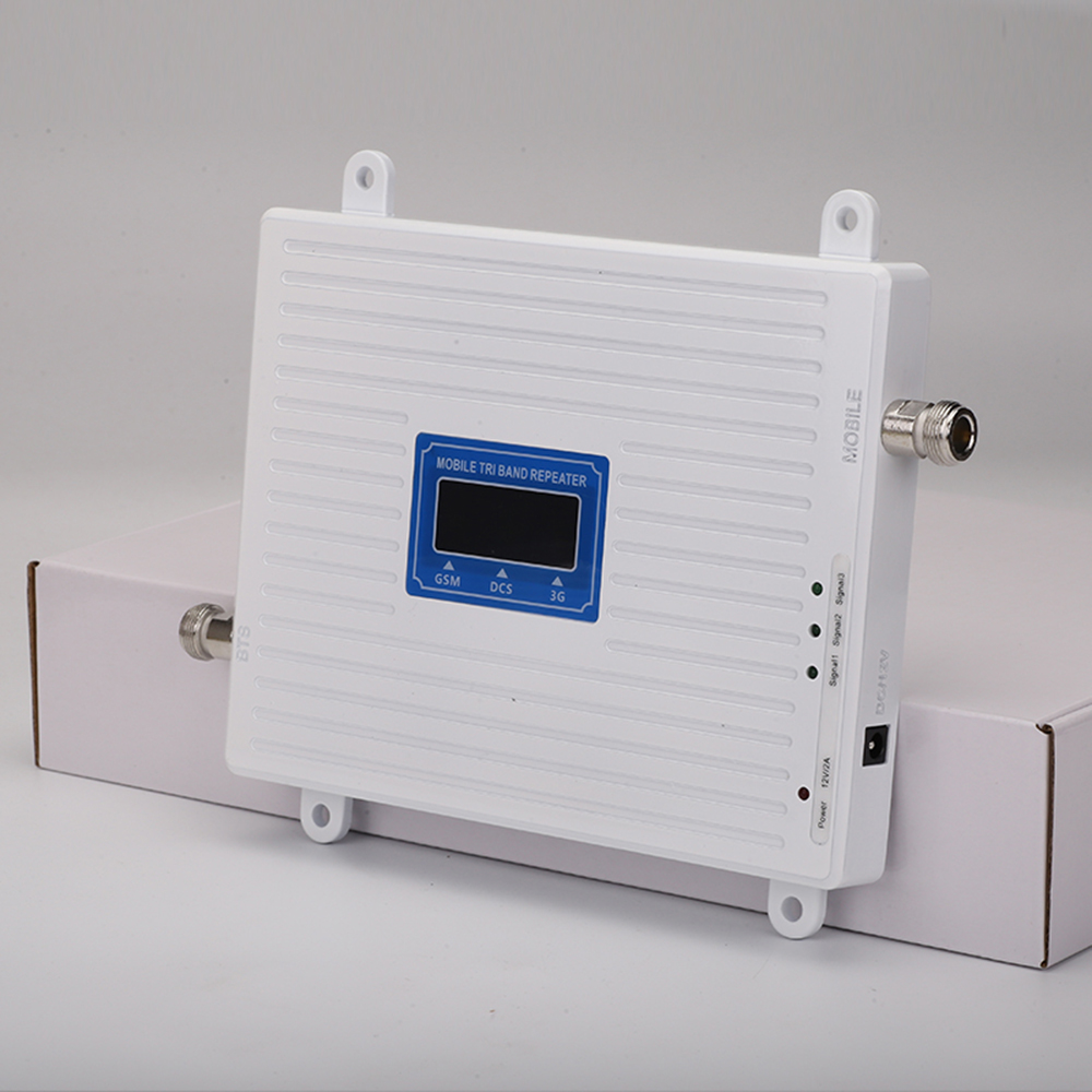 Image 3 - Tri Band Repeater 2G 3G 4G GSM 900 DCS/LTE 1800 WCDMA/UMTS 2100MHz Amplifier Mobile cellular Signal booster Antenna Set Booster-in Signal Boosters from Cellphones & Telecommunications