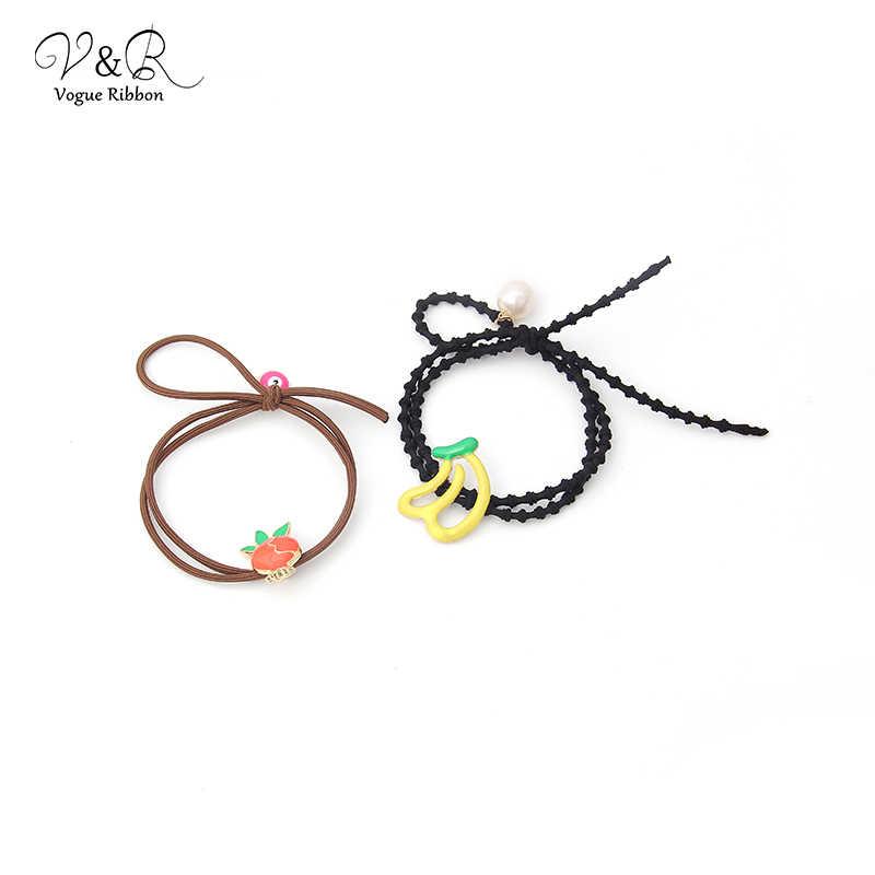 Vogue Lint Diy Handgemaakte Sieraden Maken Fruit Kraal Charms Armband En Haarband Accessoires Set Componenten Sieraden Accessoires