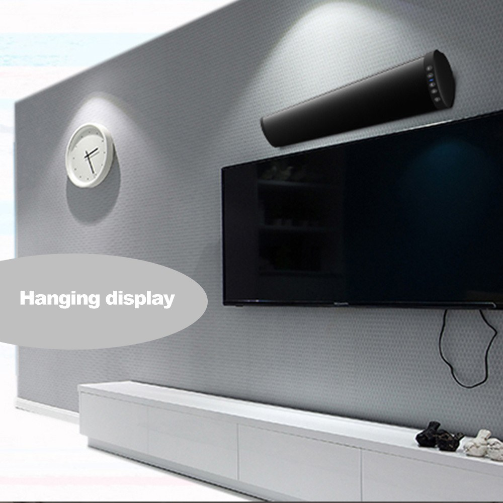 TV Home Theater Wireless Sound Bar Speaker System W/Built-in Subwoofer 3D Bluetooth Speaker Bluetooth Soundbar