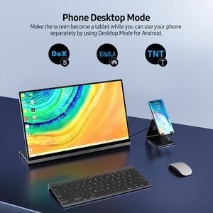 """EVICIV Raspberry Pi 4 4K TouchScreen 15.6 """"Tragbare Monitor Auto Drehen RasPi Multi-Touch Display Rasberry Taktile touchscreen"""