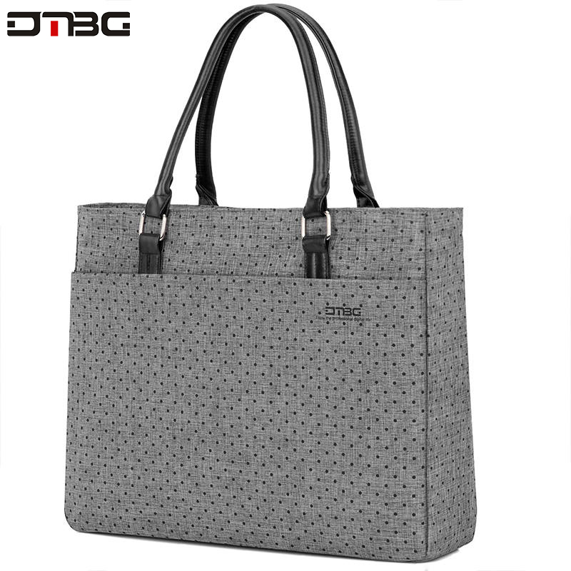 DTBG Summer Fashion Briefcase Laptop Handbags Women Bag High Quality Casual Laptop Briefcase Messenger Ladies Briefcase