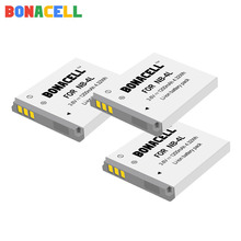 цена на Bonacell 1.2Ah NB-4L NB4L NB 4L Batteries for Canon IXUS 30 40 50 55 60 65 80 100 I20 110 115 120 130 IS 117 digital battery