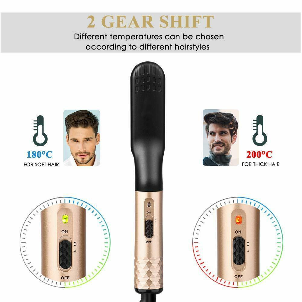Beard Straightener Brush 5