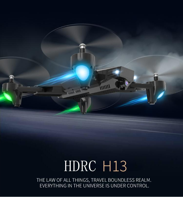 HDRC H36 Folding Drone HD Wide-angle Camera Aerial Wifi Fixed-height Remote Control Aircraft