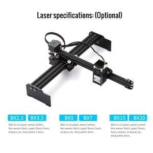Image 5 - 20W Macchina Per Incisione Laser Mini Desktop Laser Engraver Stampante Art FAI DA TE Incisione Laser Cutter per Legno Di Bambù Di Plastica