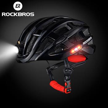 ROCKBROS lekki kask rowerowy rower Ultralight kask integralnie formowana górska droga rowerowa MTB kaski bezpieczne mężczyźni kobiety 57-62cm tanie i dobre opinie (Dorośli) mężczyźni CN (pochodzenie) About 330g 20 Black Blue White Red Yellow Cycling helmet Bike helmet Bicycle helmet