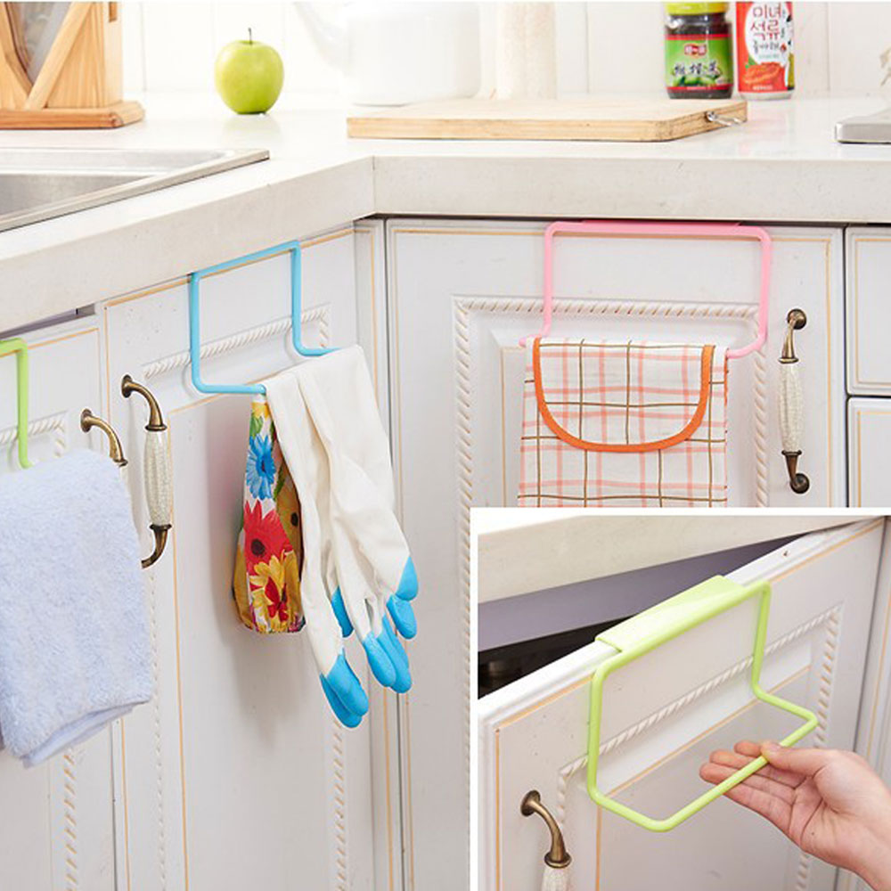 Permalink to Kitchen Drying Rack Organizer Towel Rack Hanging Holder Bathroom Cabinet Cupboard Hanger Shelf for Kitchen Supplies Accessories
