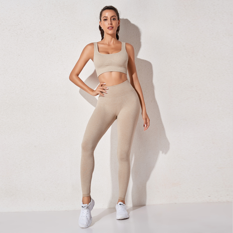 Super Promo Cbc0a Women S Sportswear High Waist Sports Bra Legging Gym Clothing Seamless Fitness Yoga Suit High Stretchy Workout Set Padded Sport Cicig Co