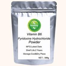Vitamin B6 Powder Pyridoxine Hydrochloride Prevent Arteriosclerosis Helps Body Absorb Fat