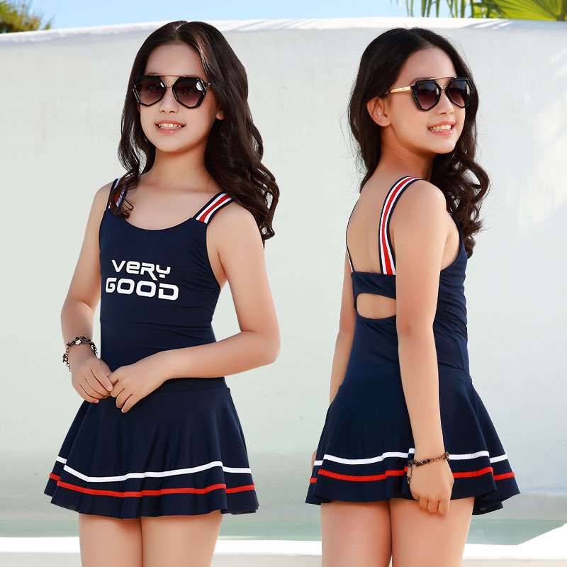 65-90 Catty 2019 Summer New Style Women's Big Kid Dress-Athletic Hot Springs Bathing Suit NT497832