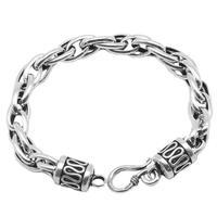 Pure Silver Thai Silver Jewelry 925 Silver Bracelet Original Handmade Vintage Men Women S925 Chain & Link Bracelet