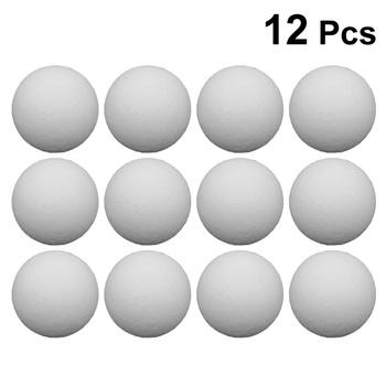 12 sztuk piłki piłkarzyki wymiana piłki Tabletop gry piłki akcesoria stołowe (biały 36mm) tanie i dobre opinie CN (pochodzenie) Table Soccer Balls Replacement Balls Table Accessories Tabletop Game Balls Mini Balls