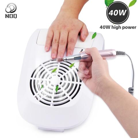 noq 40 w coletor de succao poeira do prego aspirador de po maquina manicure 2