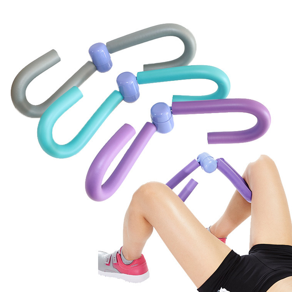 Thigh Exercisers Arm Muscle Chest Waist Trainer Gym Home Fitness Workout Machine New