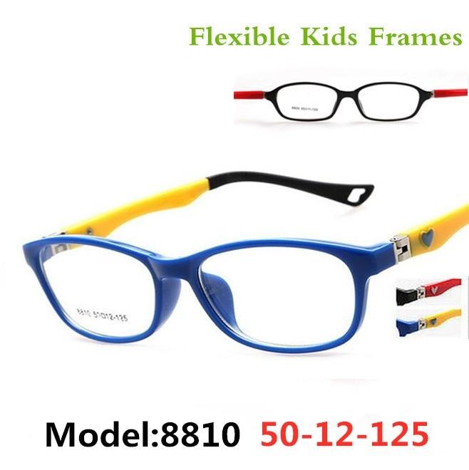 Optické dětské dětské dívčí chlapce SPRING Brýle na brýle Oválný flexibilní brýle Rx brýle na brýle Rámy pro chlapce a dívky