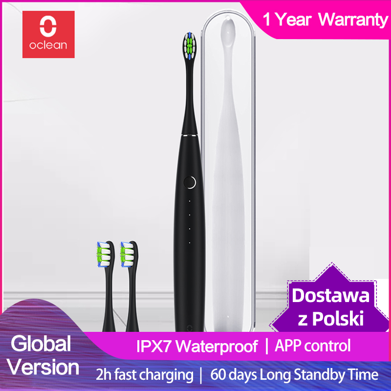 Electric Toothbrush Sonic Fast-Charging Adult Oclean One Automatic Waterproof title=