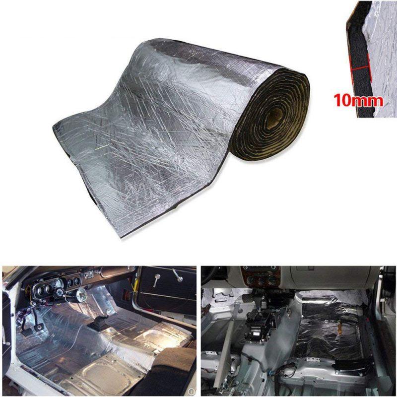 1 قطعة 5 مللي متر/10 مللي متر سيارة شاحنة جدار الحماية الحرارة بساط عازل الصوت الصوت عازل للضوضاء الحرارة الصوت وسادة التدقيق الحراري 50*200 سنتيم...