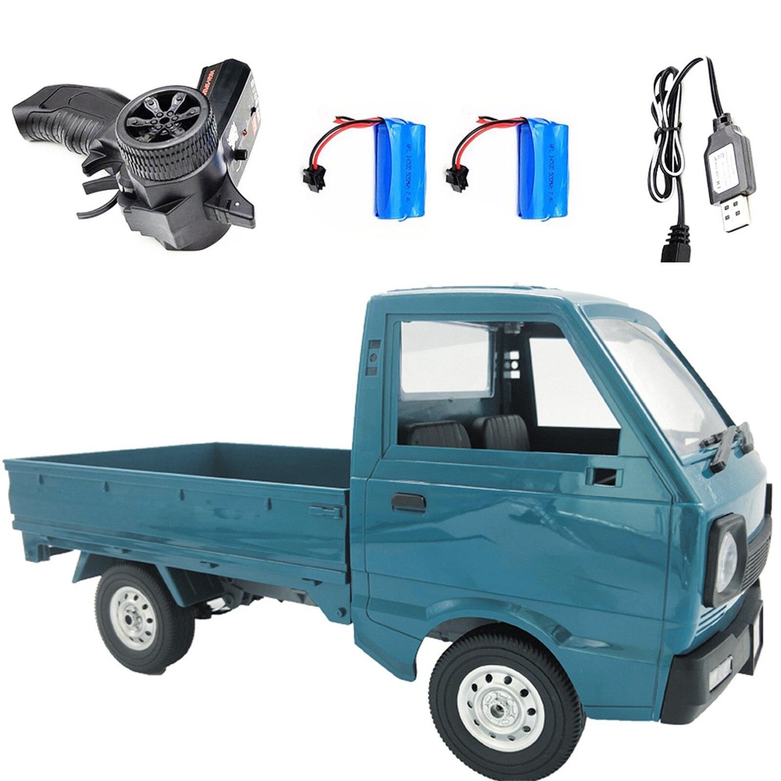 Caminhões de controle remoto comando militar veículo wpl d12 1/10 rc carro simulação deriva caminhão 260 motor rc carro brinquedo para crianças criança