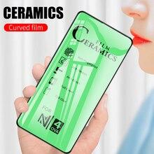 Ceramics Soft Tempered Glass for Huawei P40 P30 P20 Mate 30 20 Lite Honor 10 20 20s Pro Lite 9X 8X Nova 5T 7i Screen Protector