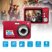 18MP 720P Portable Mini Digital Camera 2.7 Inch TFT LCD sceen 8X Zoom Video Camcorder Anti Shake Video Camera With Microphone