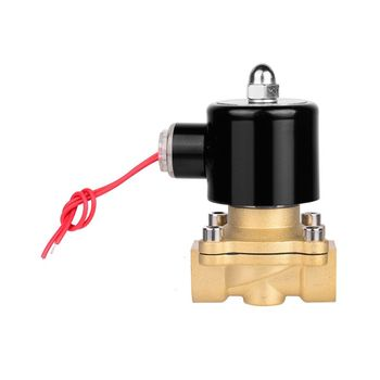 1/2 AC220V Electric Solenoid Valve Pneumatic Flow Control Normally Closed 2 Ways irrigation Reverse Osmosis Systems Water Oil 12v pneumatic electric solenoid valve 2 position 2 way normally closed air magnetic exchange valve