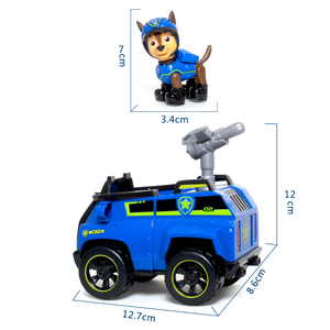 Image 4 - Genuine Paw Patrol Toy Set Toy Car Everest Apollo Tracker Ryder Skye Scroll Action Figure Anime Model Toys for Children Gift