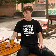 Men Clothing Brewing T-Shirts Short-Sleeve Hipster Beer Drinking Wonder Tee Too If Cool